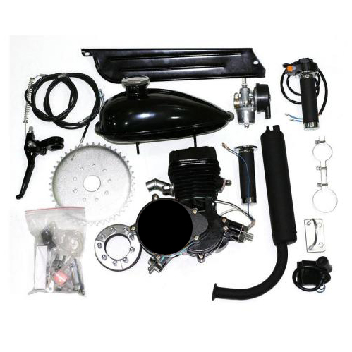 70cc (80cc) Fully Ballanced Black 'PK-80' 2-Stroke Bicycle Engine Kit