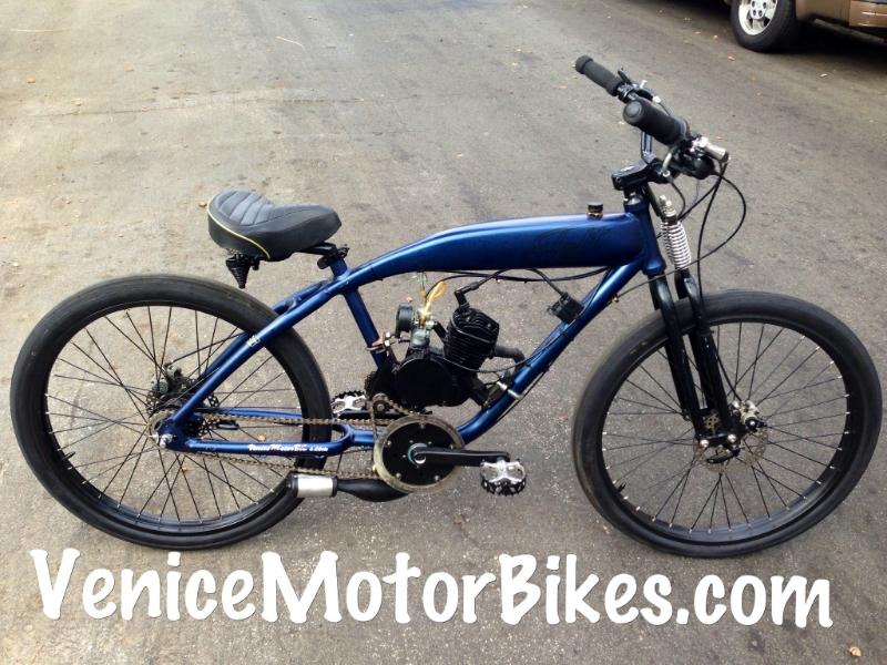 custom motorized bicycles, sales, repair, parts, bicycle engine