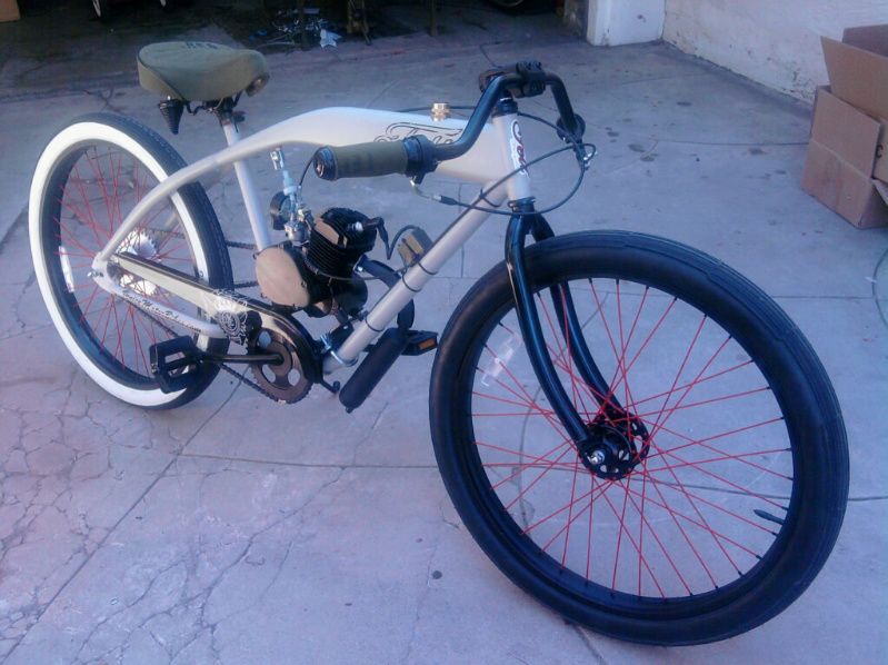 Motorized bicycle license for Custom motorized bicycles parts