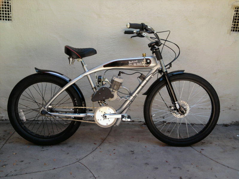 Custom motored bicycles home autos post for Custom motorized bicycles parts